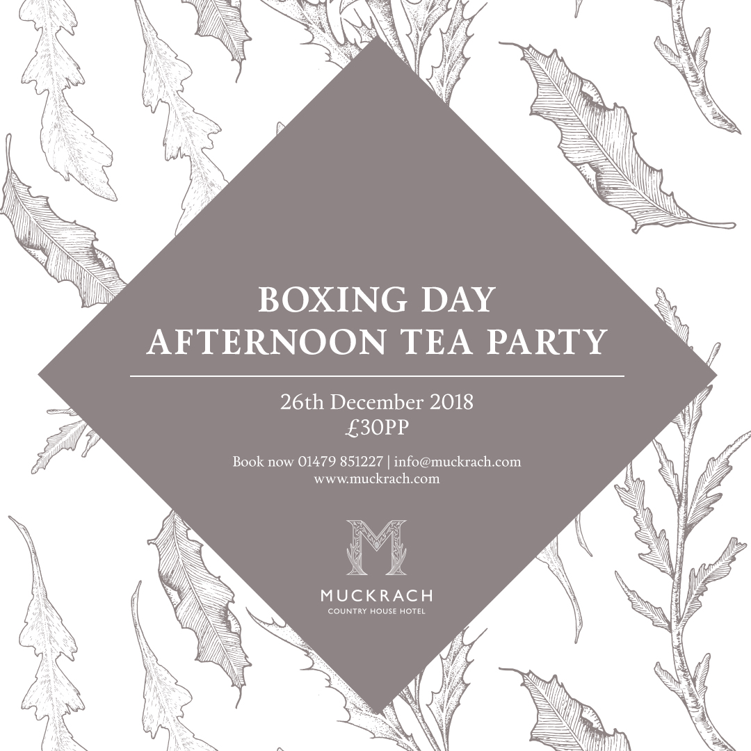 Boxing Day Afternoon Tea Party