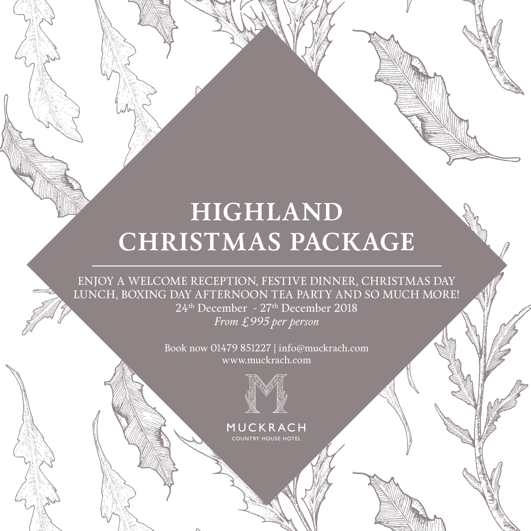 Highland Christmas at Muckrach Country House Hotel